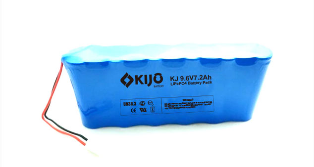 9.6 V Lithium Ion Battery